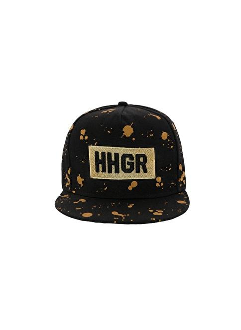 Laslusa HHGR Hip Hop Snapback Şapka Siyah